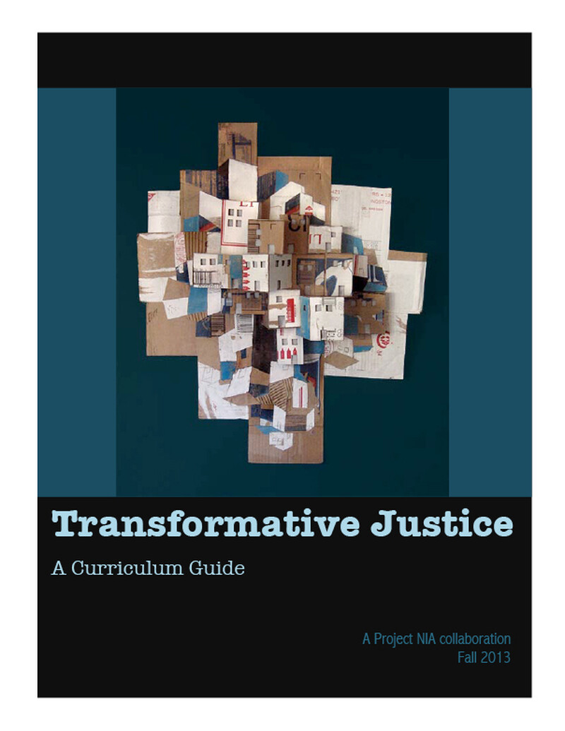 09 transformative justice curriculum